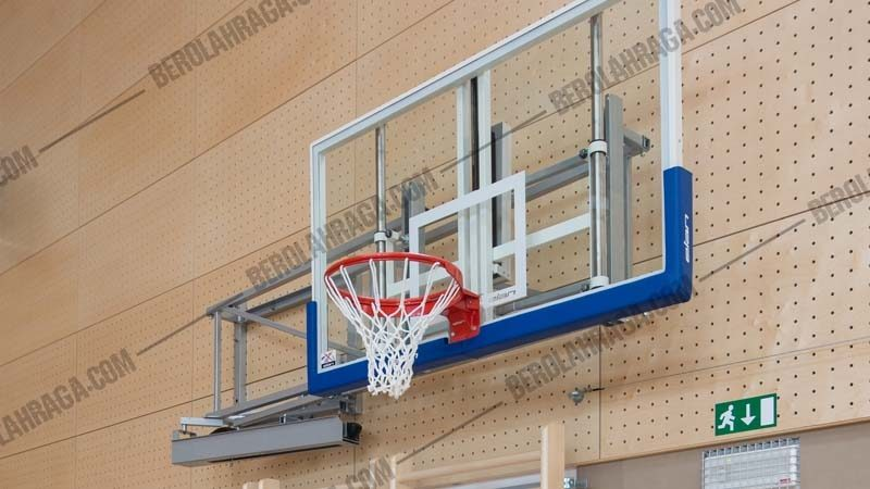 Papan Pantul & Ring Basket Goal Pro Kompetisi 20mm