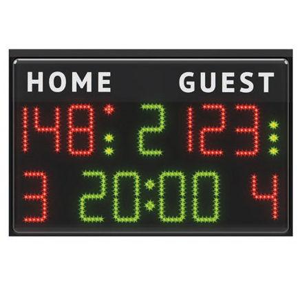 Jual Score Board Basket Digital 90x60 Grosir